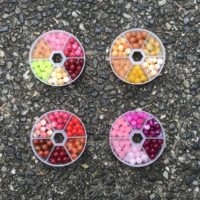 The hottest new fishing beads on the market! Eco-Friendly natural stone fishing beads!