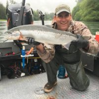 Steelhead Fishing at it's best with Dave's Guide Service.
